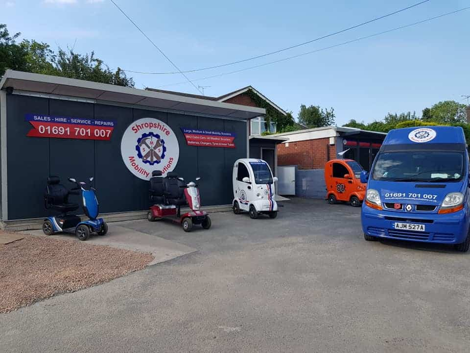 Shropshire Mobility Solutions new showroom image