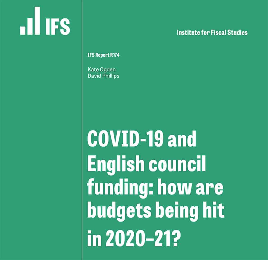 IFS councils and funding report image