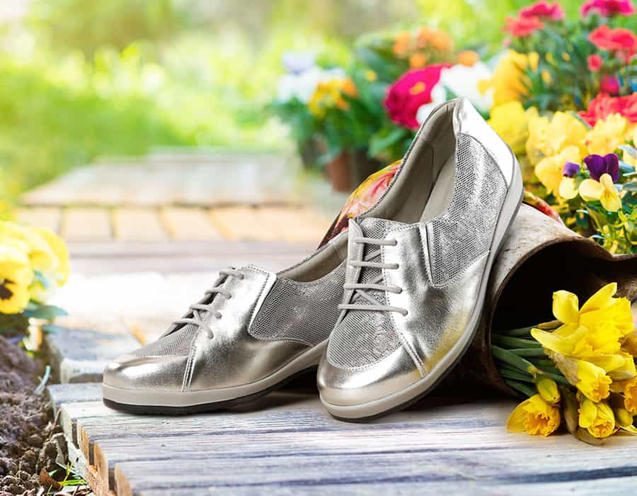 Eden Ladies Extra Wide Shoes from Sandpiper image