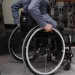 Motion Composites wheelchair user