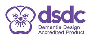 Dementia Design Accredited Product Logo image