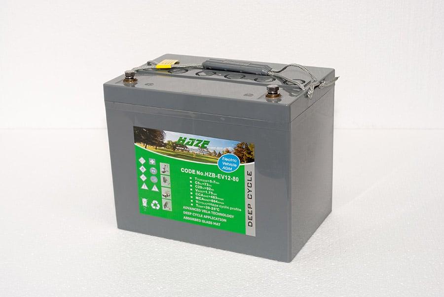 Haze battery image