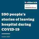 Healthwatch England hospital discharges report image