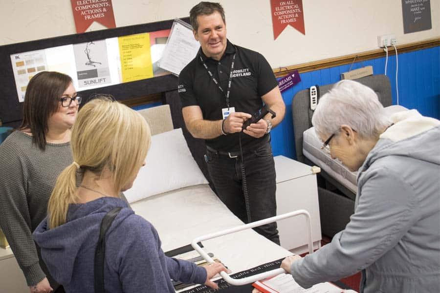 Mobility Scotland customer service