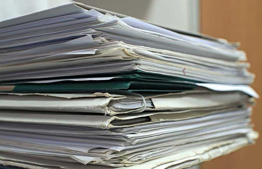 Invoices piling up