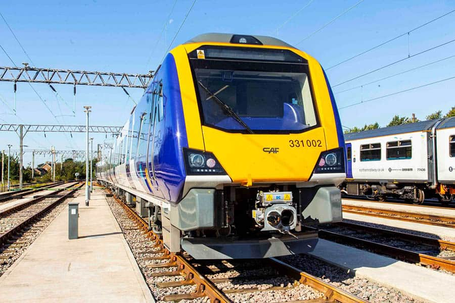 Northern Rail train image