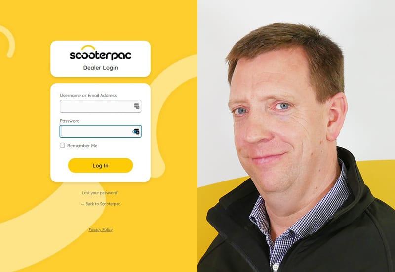 Scooterpac Dealer Portal image