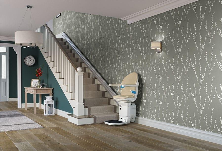 Handicare 1000 Straight Stairlift image