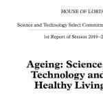 Science and Technology Committee Ageing Science, Technology and Healthy Living report image