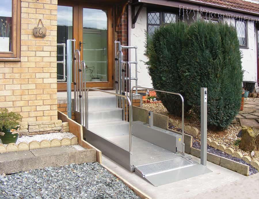 TSL 1000-Wheelchair-Step-Lift-Domestic-Disabled-Platform