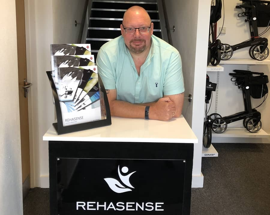 Lee French, managing director at Rehasense