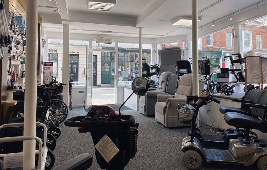 Coastline Mobility Budleigh interior website