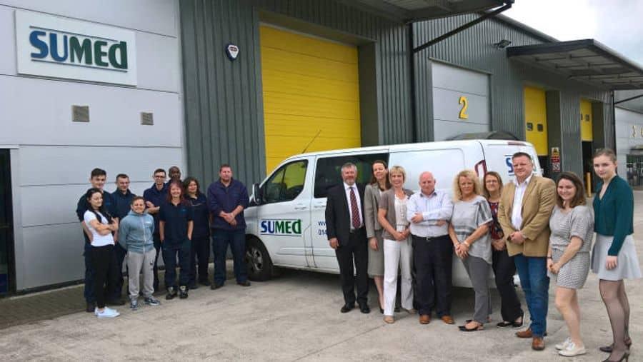 Sumed International (UK) team