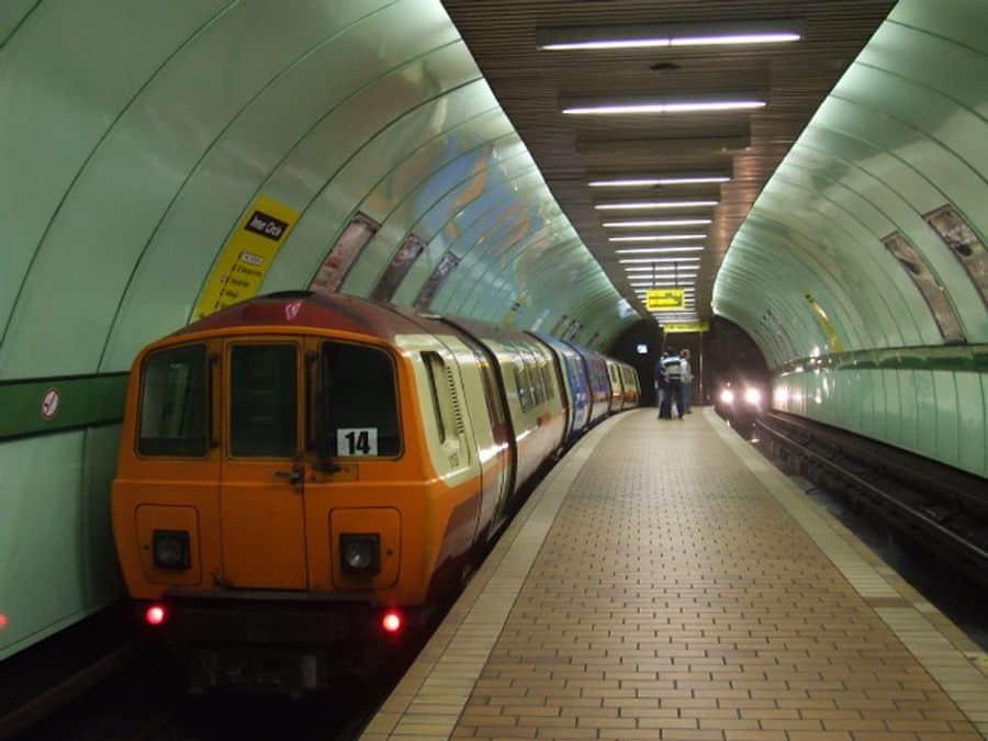 Cowcaddens subway station in Glasgow