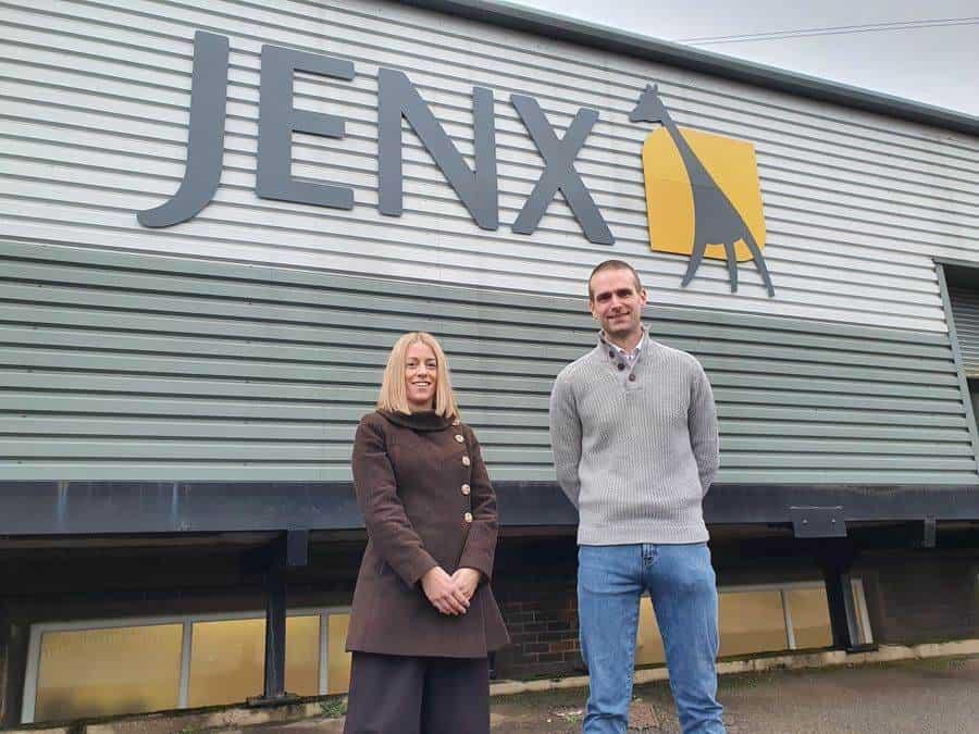 Holly Jenkins and Dan Limb, Jenx