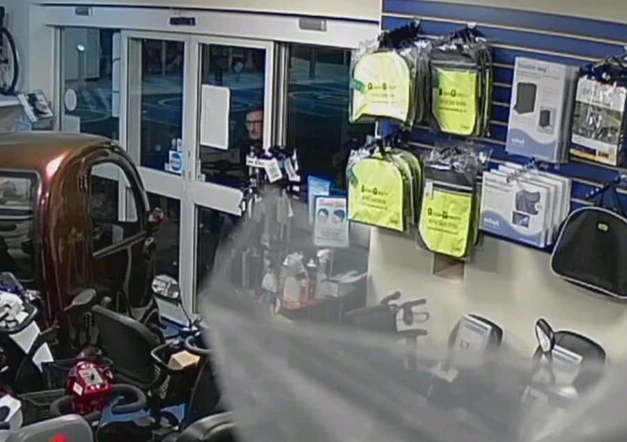 Modern Mobility break-in