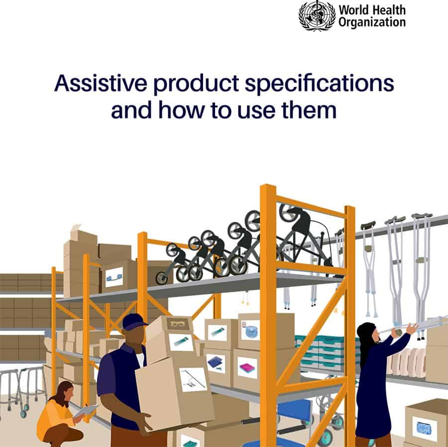 WHO assistive technology guide image