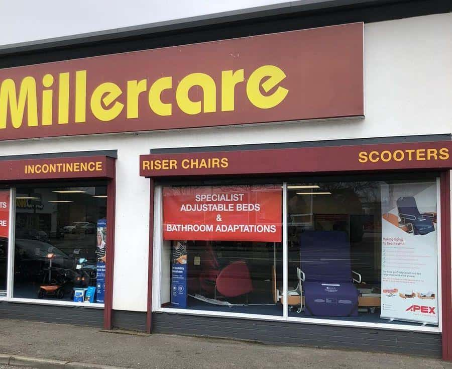 Millercare Warrington store