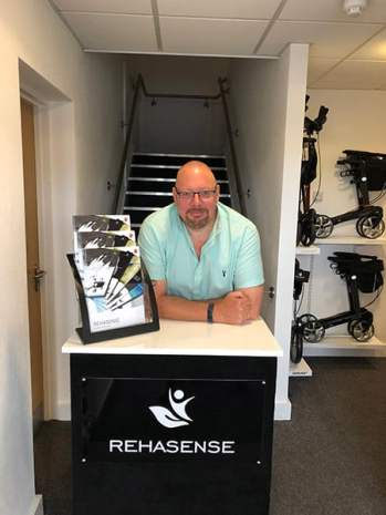 Lee French at Rehasense HQ image