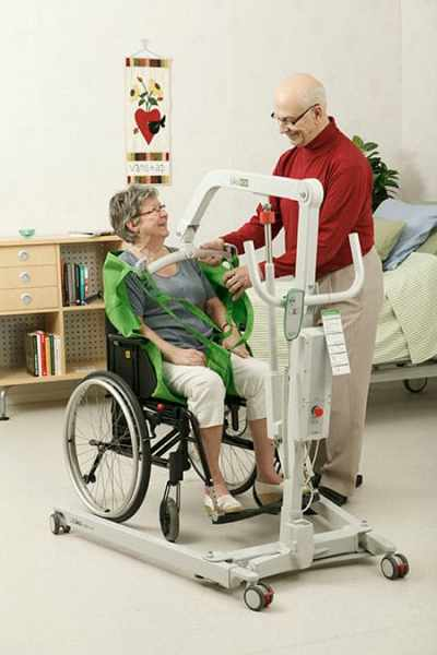 Hillrom safe patient handling equipment image