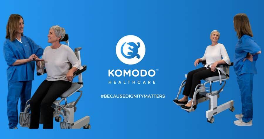 Komodo hygiene chair