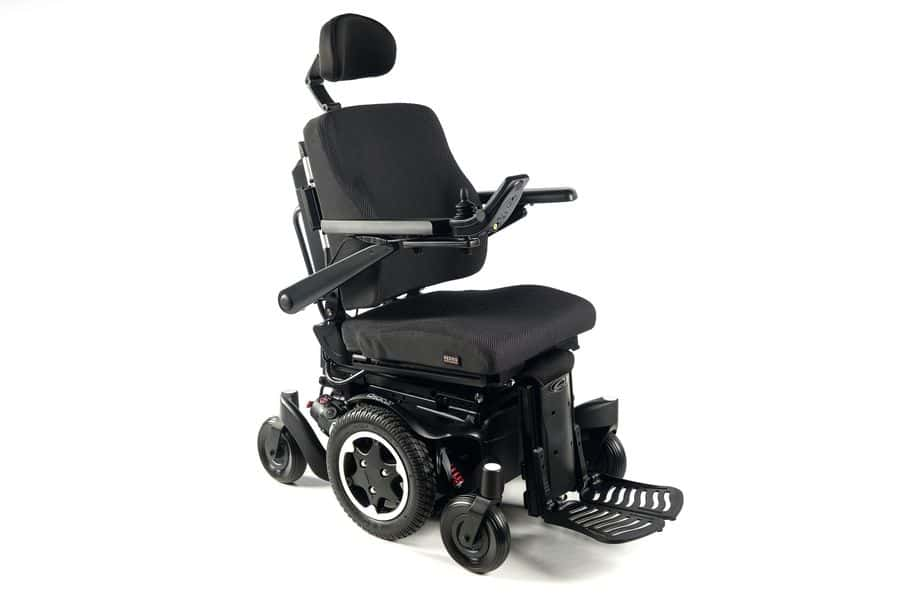The Quickie Salsa Pro Power Wheelchair from Sunrise Medical