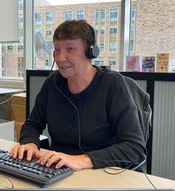Elaine Willis, Blackwood Housing and Care Enhanced Team Leader