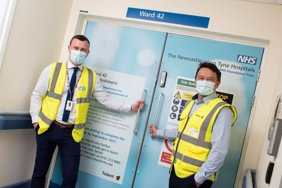 Ward 42 at Newcastle's RVI Hospital