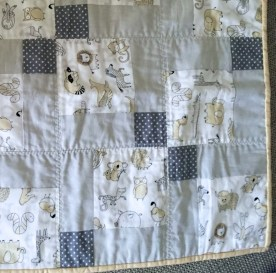 #firstquilt #babyquilt #disappearingsquare 642