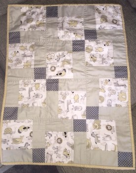 #firstquilt #babyquilt #disappearingsquare 643