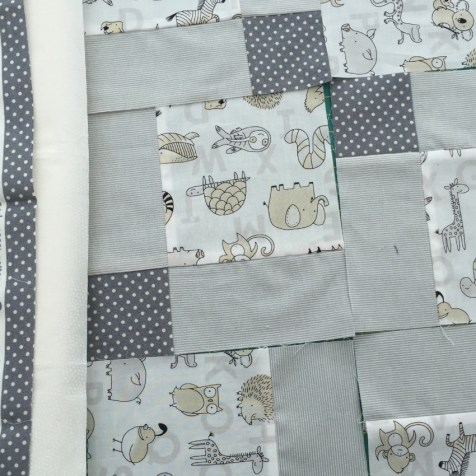 #firstquilt #babyquilt #disappearingsquare 663