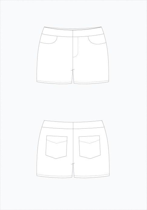 Maritim shorts