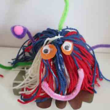 Space Craft: Making Woolly Bug Aliens