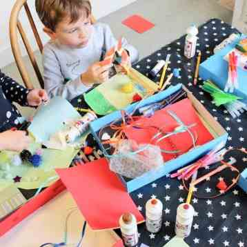 How to Display and Organise your Child's Artwork