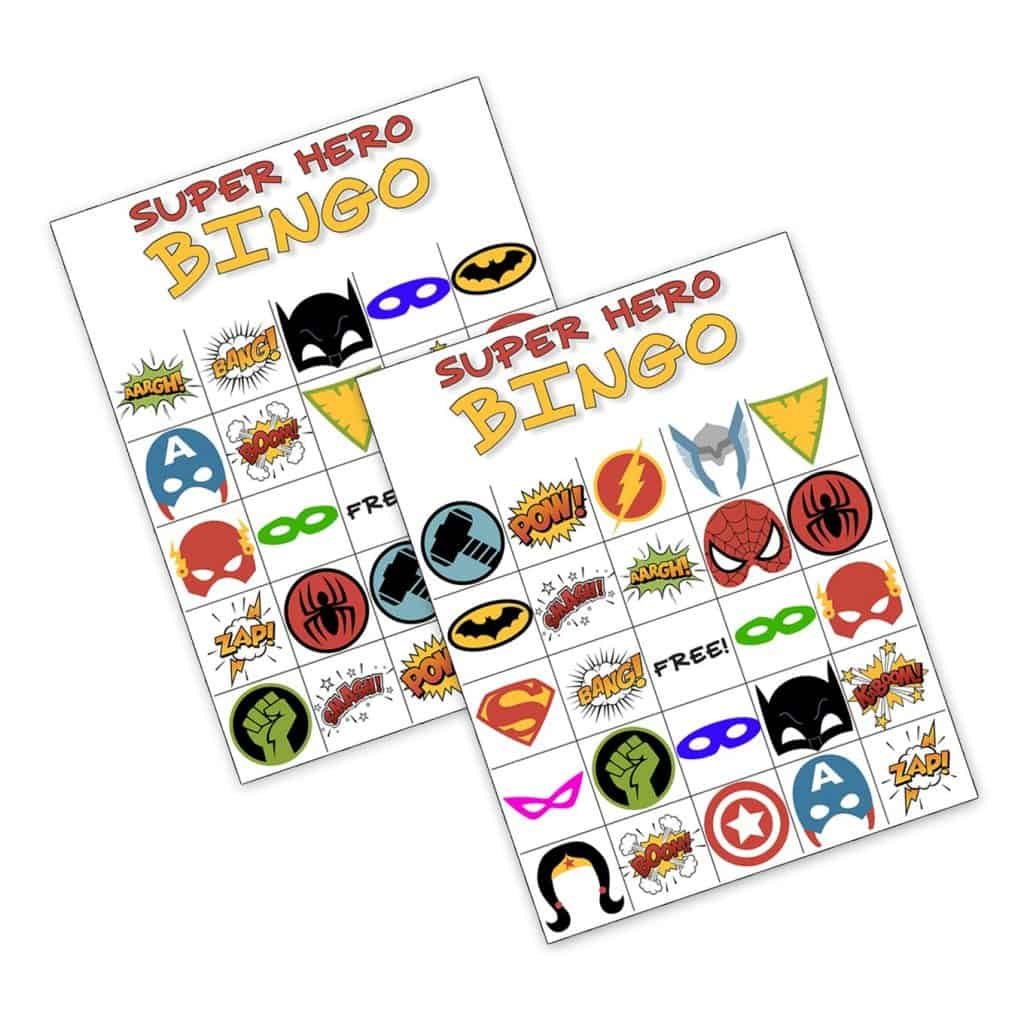 Ideas For A Superhero Party