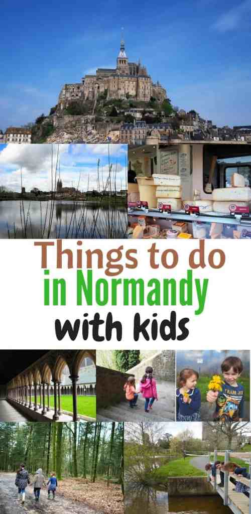 Things to do in Normandy with kids