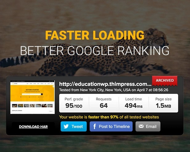 Fast Education WordPress Theme