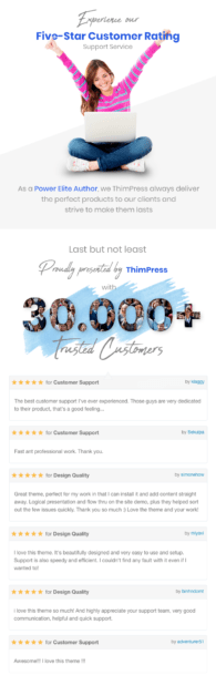 Most Trusted WordPress Theme