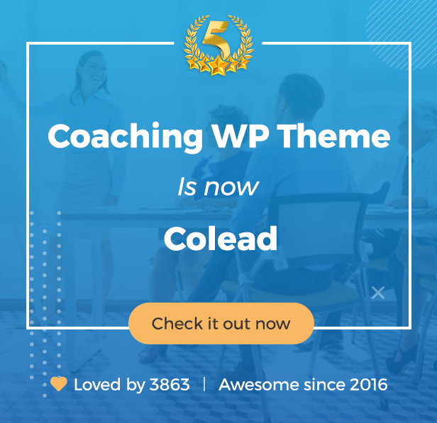 Colead | Coaching & Online Courses WordPress Theme - 9