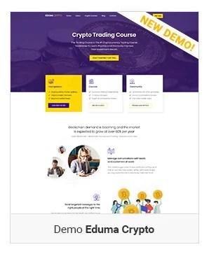 Crypto - Education WordPress Theme