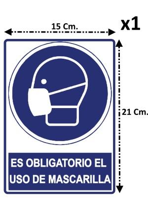 Kit de 11 Pegatinas de Seguridad para Señalización en Empresas Tiendas Locales Covid 19