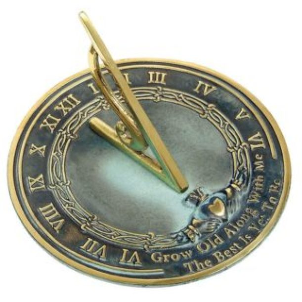 Grow Old With Me Sundial Gift