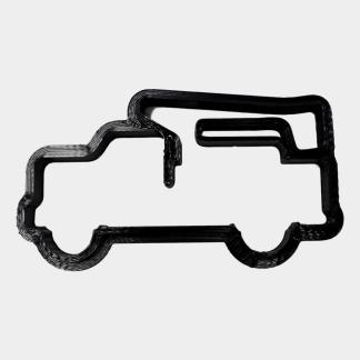 Bucket Truck Down Cookie Cutter - LineWife Official Series - ThingHero by Solutions of Consequence