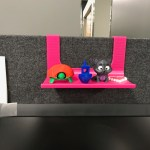 Shelf For 1 Cubicle Wall By Mikeymakesit Thingiverse