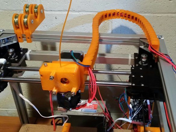 3uP 3D Printer Cable Chain System by BPopilek - Thingiverse
