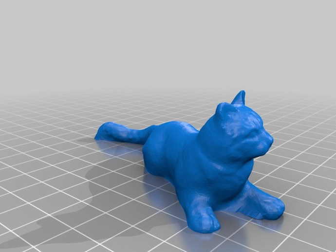 Yellow Cat By Benitosanduchi Thingiverse