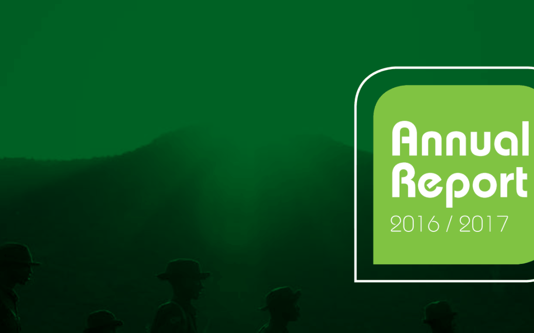 The Thin Green Line Foundation – 2016/2017 Annual Report