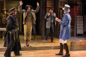 Scene from The Comedy of Errors (Photo by Karl Hugh. Copyright Utah Shakespeare Festival 2014.)