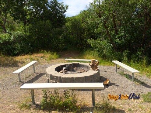 kiwanis park fire pit
