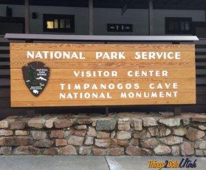 Timpanogos cave National Park Visitor Center